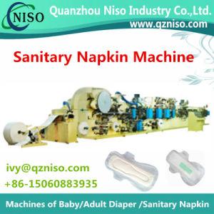 Full Automatic Semi-Servo Feminine Pads Machine Sanitary Napkin Machine Manufacture From China pictures & photos