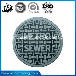 Cast Ductile Iron Resin Sand Casting Manhole Cover with Coating pictures & photos