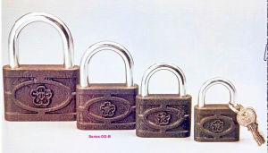 Thin Type Cast I Ron Padlock pictures & photos