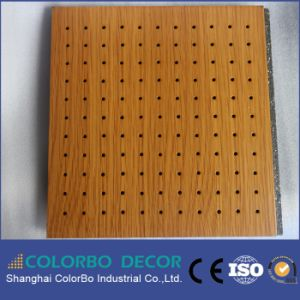 Conference Room Decoration Flame Retardant Wood Timber Acoustic Panel pictures & photos