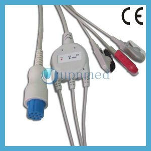 Datex Cardiocap 5 Lead ECG Cable with Leadwires, IEC, Aha pictures & photos