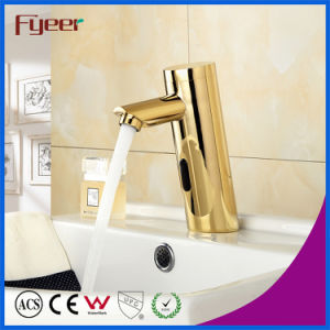 Fyeer Golden Automatic Sensor Faucet pictures & photos