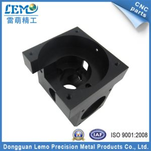 Precision CNC Aluminum Machining Parts with Black Anodized (LM-1168A) pictures & photos
