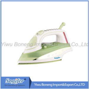 Electric Travelling Steam Iron Sf-8833 Electric Iron with Ceramic Soleplate (Green)
