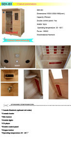 2017 Far Infrared Sauna for 3 Person-B3 pictures & photos