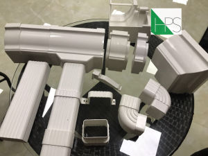 PVC Pipe Fitting Rain Water Drain Downspout Plastic Building Material pictures & photos