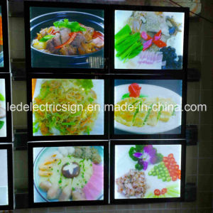 Ultra Slim LED Light Box Picture Display Aluminum Frame pictures & photos