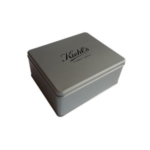 Korea Metal Cosmetic Tin Box Perfume Packaging Tin Container Promotion pictures & photos