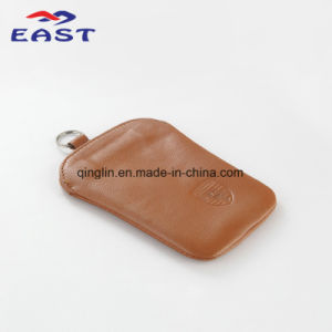 Wholesale Custom Logo Brown PU Business Card Package pictures & photos