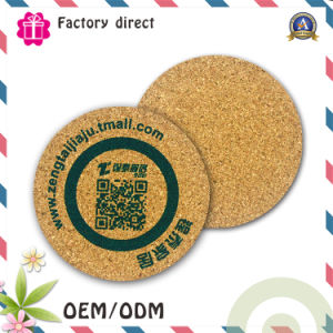 Promotion Gift Cheap Factory Direct Custom Logo Cup Mat Cork Coaster pictures & photos