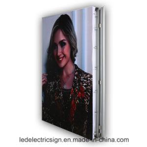 Frameless Poster Frame LED Light Box pictures & photos
