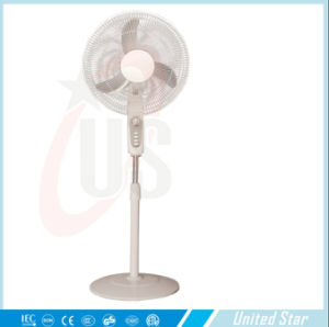 Unitedstar 16′′ Solar Rechargeble DC Stand Fan pictures & photos