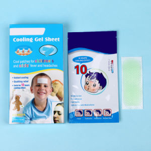 Fever Reducing Tempo Cool Cooling Gel Patches pictures & photos