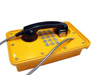 Industrial Emergency Phone /Sos Telephone Knsp-09 Weatherproof Telephone pictures & photos