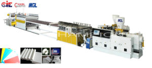 Precision Low Energy Consumption PVC Crust Plastic Sheet Machine pictures & photos