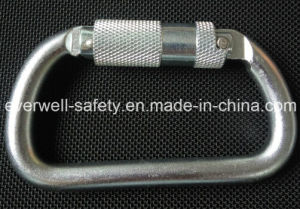 Self-Locking Safety Hook Spring Carabiner (C301-1) pictures & photos