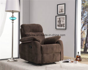Living Slim Recliner Fabric Swivel Rocker Manual Recliner Chair pictures & photos