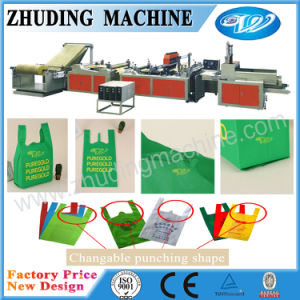 Non Woven Heart Press Shopping Bag Making Machine pictures & photos