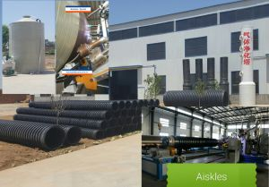 PP/HDPE Spiral Winding Pipe Machinery pictures & photos