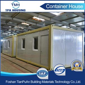 Flat Pack 20FT Sandwich Panel Prefabricated Container House for Sale pictures & photos