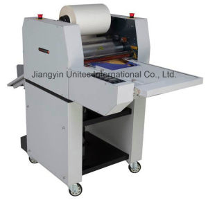Popular Designed Steel Rollers Thermal Roll Laminator GS-370 pictures & photos