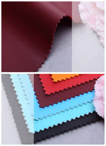 Top Style Napa Pattern Faux PU Leather for Bags, Shoes, Garment, Decoration, Furniture (HS-Y69) pictures & photos