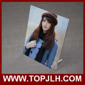 15*20cm Tempered Glass Photo Frame Sublimation pictures & photos