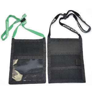 New Style Nylon Polyester Neck Cord Travel Wallet (NW-306) pictures & photos