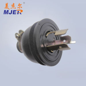 Certificated Power Cord Plug 3 Pin for European Mjer pictures & photos