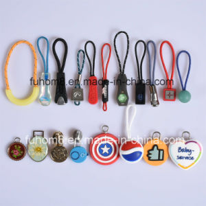 Customized H-Quality Plastic/TPU/Silicone Garment Zipper Pull pictures & photos
