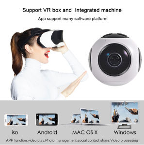 New Release 2017 Professional 360 Degree Vr Video Sport Camera 4k
