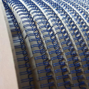 Nylon Coated Double Loop Wire Binding in Roll & Spool pictures & photos
