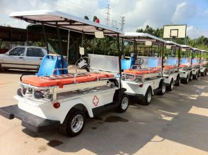 2 Seater Electric Ambulance Golf Cart pictures & photos