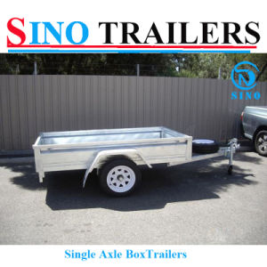 Manufacturer Supply Box Trailer for Sale pictures & photos