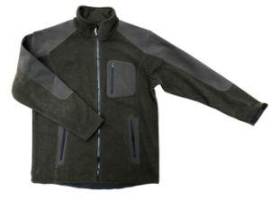 Custom Logo Mens Zip up Sports Fleece Jacket pictures & photos