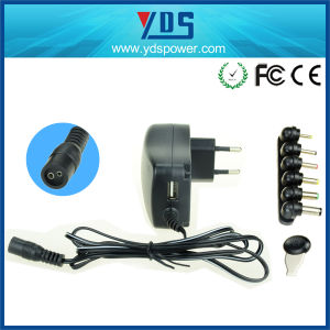 Universal Wall Mounted AC DC 30W 12V 2A Power Adapter pictures & photos