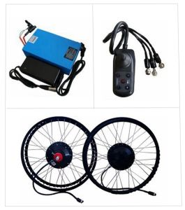 Green Power Brushless Motor Electric Wheelchair Kit with Battery pictures & photos