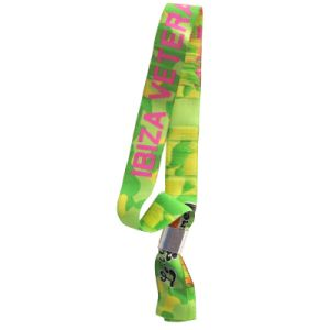 Custom Professional Custom Festival Woven Fabric Wristband pictures & photos