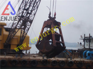 25t Wireless Ropes Grab Dredging Grab for Marine Deck Crane pictures & photos