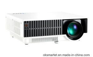 Oksmart 2016 Best Hot Sell 2800 Lumens Theater Android WiFi Projector pictures & photos