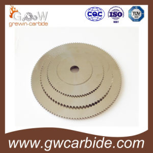 Tungsten Carbide Ground Saw Blade pictures & photos