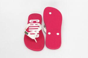 Red Plain Rubber Flip Flops pictures & photos
