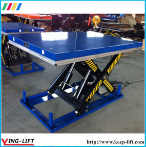 Heavy Duty Stationary Electric Scissor Lift Table pictures & photos