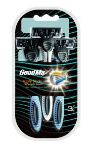 Hot Sale 3 Blade Disposable Razor Stainless Steel, Goodmax pictures & photos