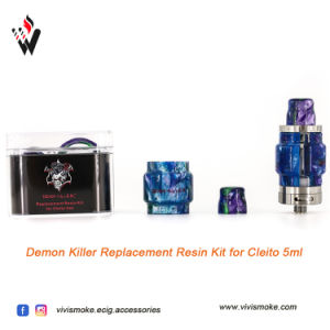 Demon Killer Cleito 5ml Resin Tube with Drip Tip Kit pictures & photos