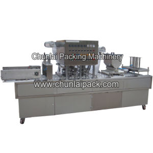 Map Packing Automatic Cup Filling Sealing Machine pictures & photos