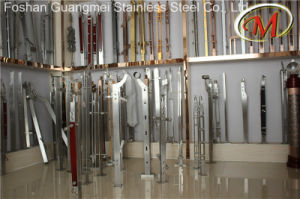 Stainless Steel and Wood Material Railing Pillars pictures & photos