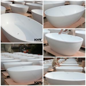 Modern Solid Surface Bathroom Freestanding Bath Tub pictures & photos