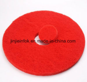 Green Red White Colorful Floor Polishing Pad pictures & photos