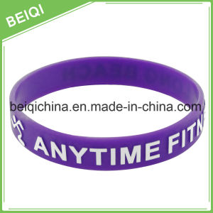Manufacture Direct Supply Production Silicone Bracelet pictures & photos